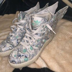 Jeremy Scott wings 2.0 money sneaker